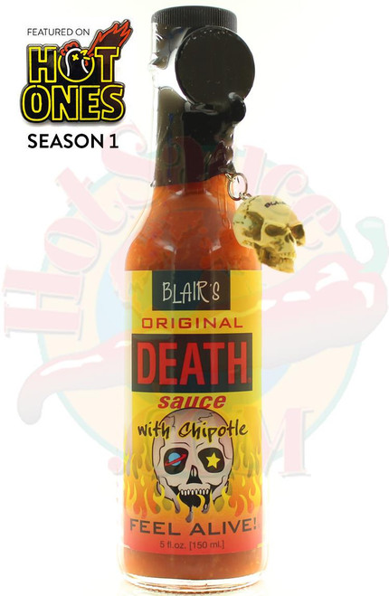 Blair's Original Death Sauce with Chipotle, 5oz.