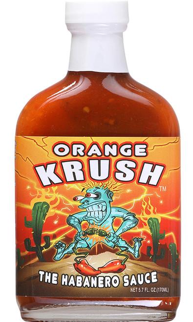 Orange Krush The Habanero Sauce, 5.7oz.