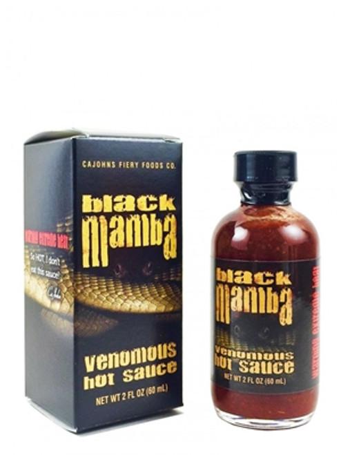 Black Mamba Extreme Venomous Hot Sauce, 2oz.