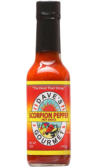 Dave's Gourmet Scorpion Pepper Hot Sauce, 5oz.
