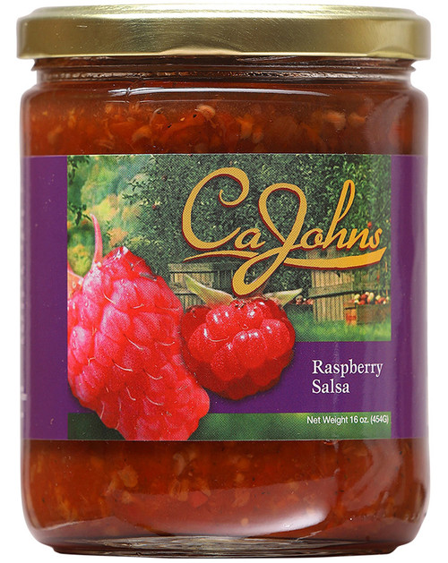 CaJohn's Gourmet Raspberry Salsa, 16oz.