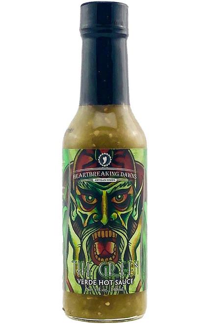 Heartbreaking Dawns The Green Verde Hot Sauce, 5oz.