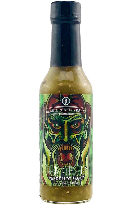 Heartbreaking Dawns The Green Verde Hot Sauce, 5oz.