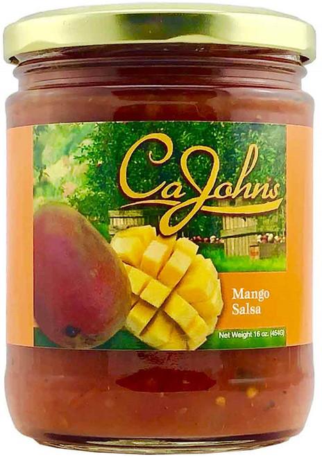 CaJohn's Gourmet Mango Burst Salsa, 16oz.