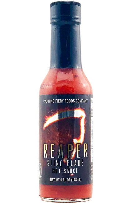 CaJohn's Reaper Sling Blade Hot Sauce, 5oz.