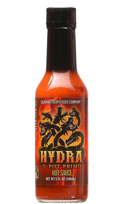 CaJohn's Hydra 7-Pot Primo Hot Sauce, 5oz.