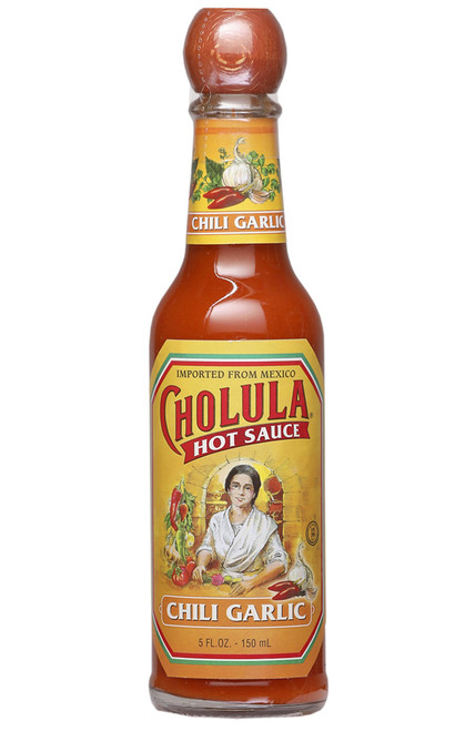 Cholula Chili Garlic Hot Sauce, 5oz.