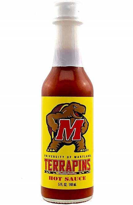 Collegiate Hot Sauce - Maryland Terrapins, 5oz.