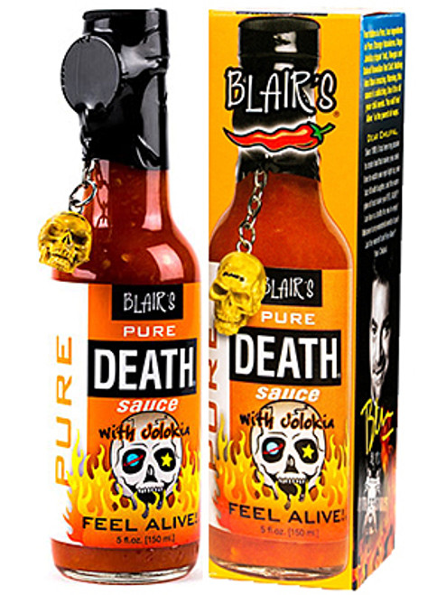 Blair's Pure Death Naga (Ghost) Jolokia Hot Sauce, 5oz.