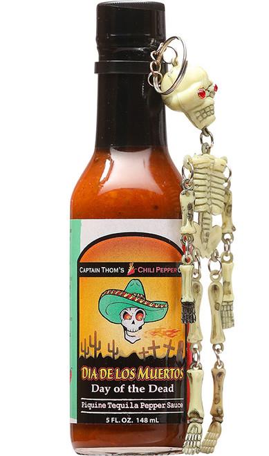 Day Of The Dead w/ Skeleton Keychain, 5oz.