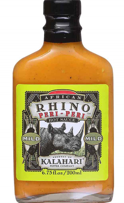 African Rhino Peri-Peri Mild Sauce, 6.75oz.