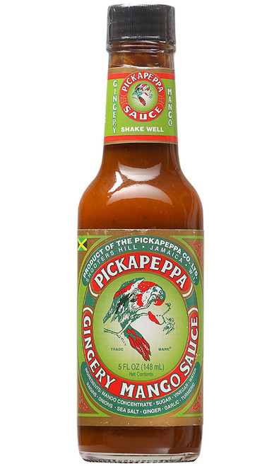 Pickapeppa Gingery Mango Hot Sauce, 5oz.