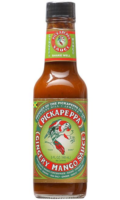 Pickapeppa Gingery Mango Hot Sauce, 5oz.