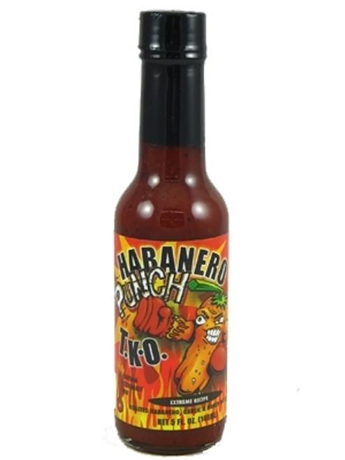 Habanero Punch T.K.O. Hot Sauce, 5oz.