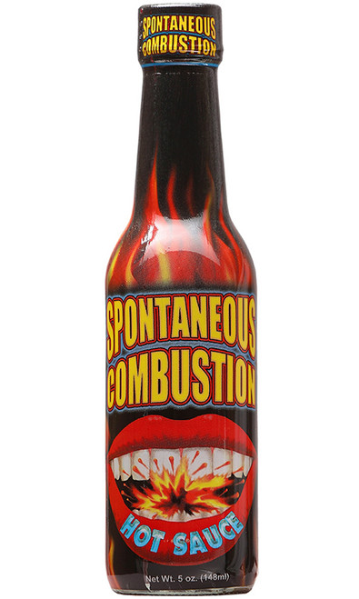 Spontaneous Combustion Hot Sauce, 5oz.