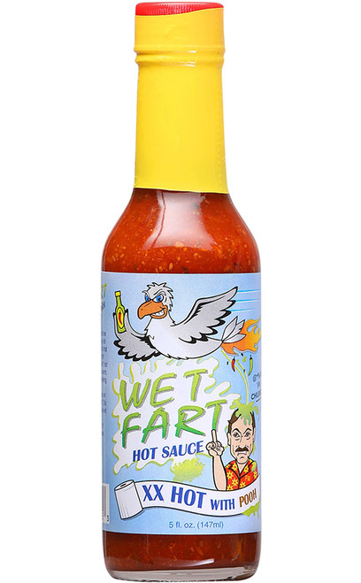 Wet Fart XX Hot With Pooh Hot Sauce, 5oz.