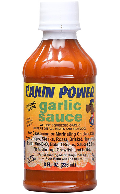 Cajun Power Garlic Sauce, 8oz.
