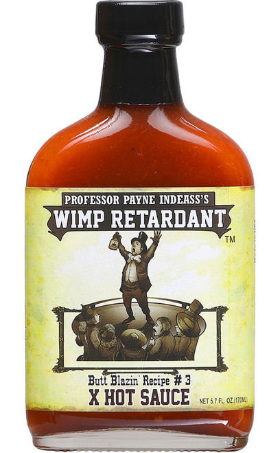 Wimp Retardant X-Hot Hot Sauce, 5.7oz.