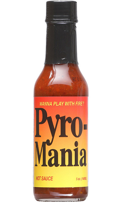 Pyro Mania Hot Sauce, 5oz.