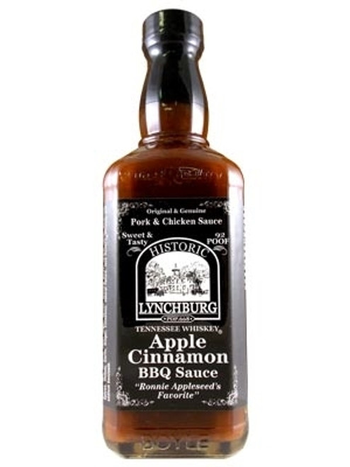 Historic Lynchburg Tennessee Whiskey Apple Cinnamon BBQ, 16oz