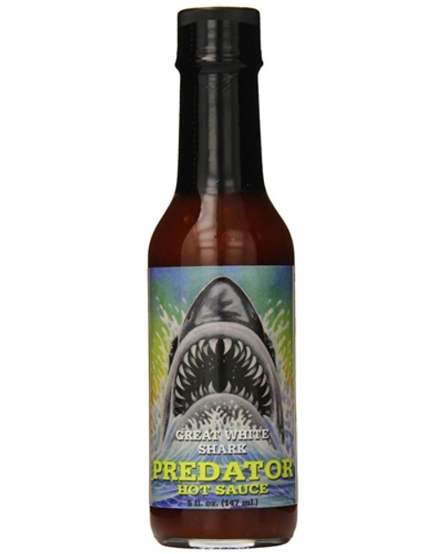 Predator Great White Shark Hot Sauce, 5oz.