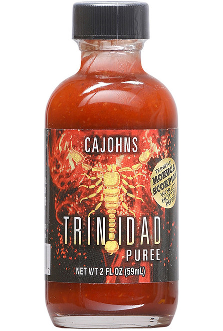 CaJohn's Trinidad Scorpion Puree, 2oz.