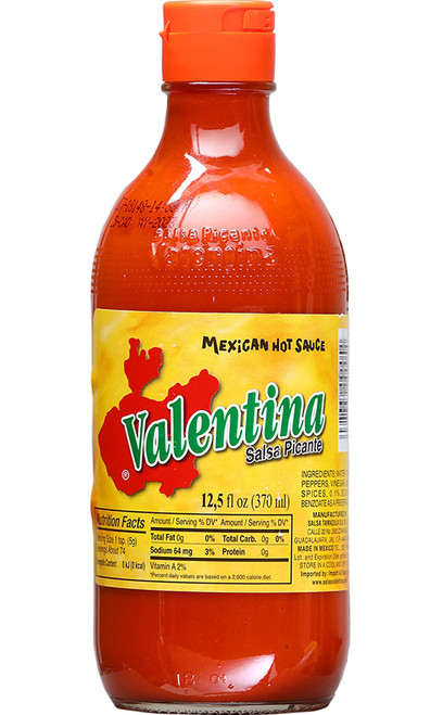 Valentina Hot Sauce, 12.5oz.