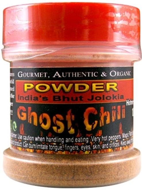 Pure Bhut Jolokia Ghost Chili Powder, .5oz.