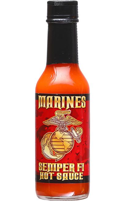 Semper Fi Marine Corps Habanero Gourmet Hot Sauce, 5oz.