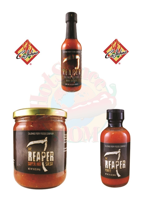 CaJohn's Reaper Gift Set, 1/2oz, 1/5oz, 1/16oz.