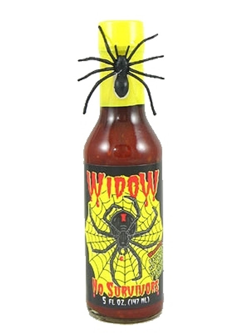 Widow, No Survivors Hot Sauce, 5oz.