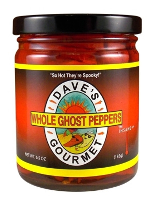 Dave's Gourmet Whole Ghost Peppers, 6.5oz.