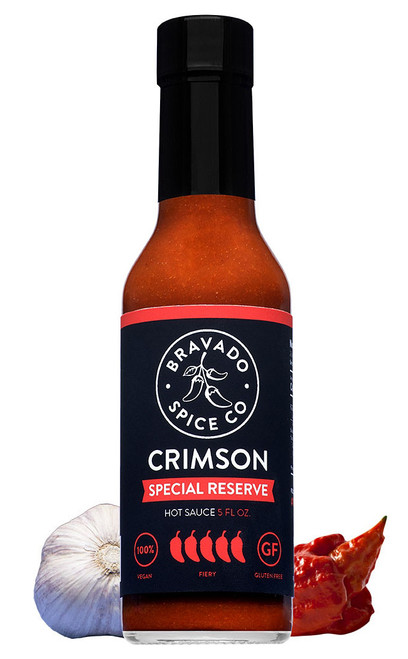 Bravado Spice Co. Crimson Reserve Hot Sauce, 5oz.