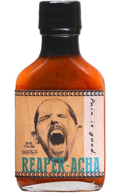 Pain is Good REAPER-ACHA Micro Batch Hot Sauce, 3.5oz.