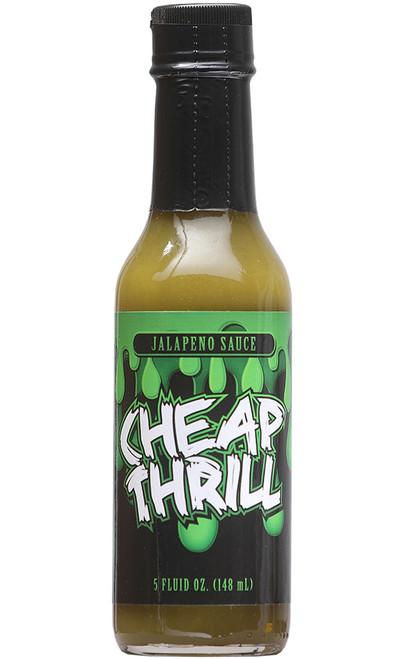 Cheap Thrill Jalapeno Hot Sauce, 5oz.