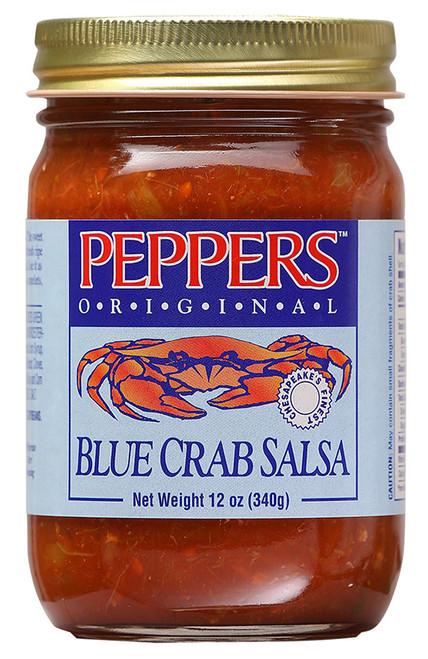 Peppers Original Blue Crab Salsa, 12oz.