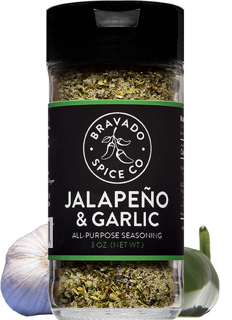 Bravado Spice Co. Jalapeno & Garlic Seasoning, 3oz.