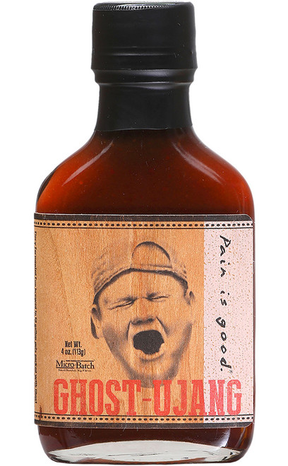 Pain is Good Ghost-Ujang Micro Batch Hot Sauce, 4oz.