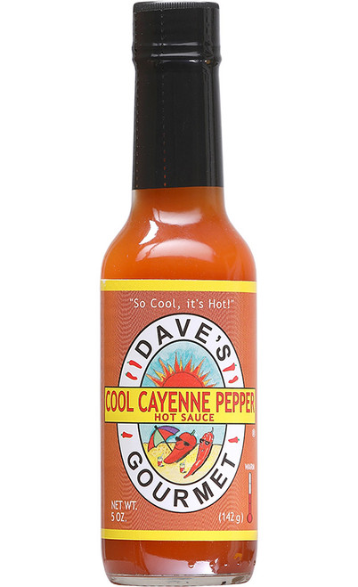Dave's Gourmet Cool Cayenne Pepper Sauce, 5oz.