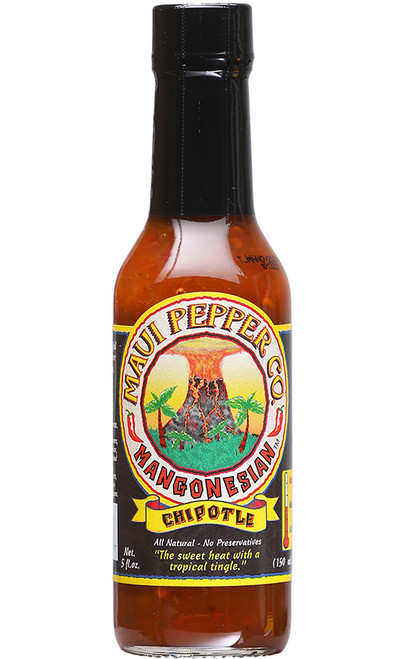 Tahiti Joe's Maui Pepper Mangonesian Hot Sauce, 5oz.