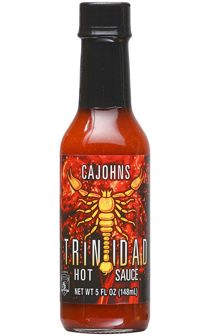 Cajohn's Trinidad Scorpion Hot Sauce, 5oz.