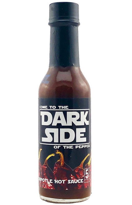 Dark Side of the Pepper Chipotle Hot Sauce, 5oz.