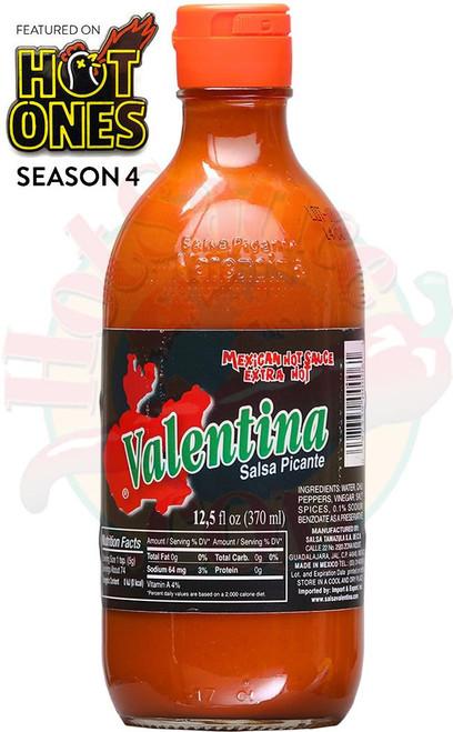 Valentina Extra Hot Sauce, 12.5oz.