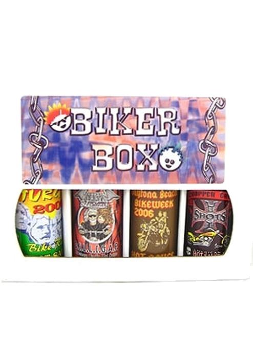 Biker Box Hot Sauce Gift Set, 4/5oz.