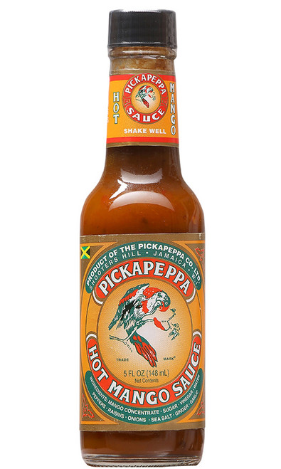 Pickapeppa Hot Mango Sauce, 5oz.