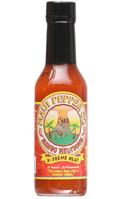 Tahiti Joe's Maui Pepper Mango Meltdown X-Treme Heat, 5oz.