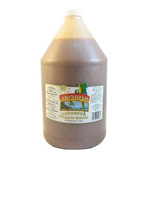 Trinidad Extra Hot Pepper Sauce Gallon, 128oz.
