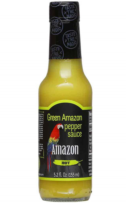 Amazon Green Hot Sauce, 5.2oz.