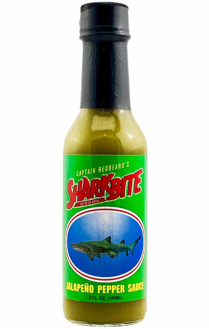 Sharkbite Green Jalapeno Hot Sauce, 5oz.