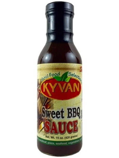 Kyvan Sweet BBQ Sauce, 15oz.